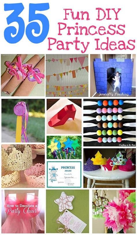 unique birthday party ideas for no princess 12 best images about birthday ideas on crafts