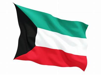Kuwait Flag Fluttering Icon Non Commercial Freeflagicons