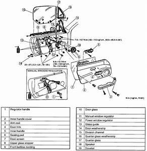 Diagrams To Remove 1995 Mazda Mx 5 Driver Door Panel