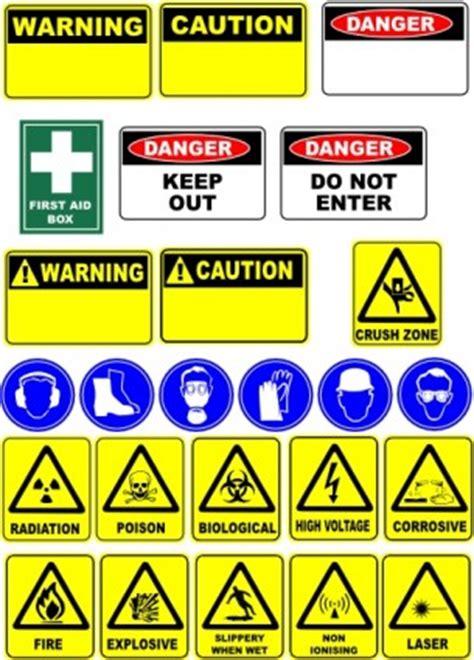safety signs clip art vector clip art ai svg eps vector