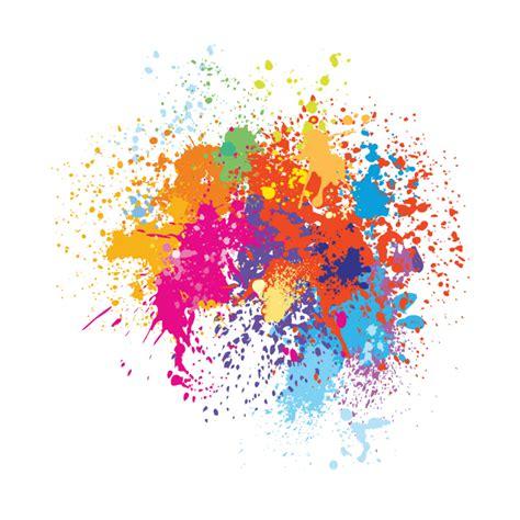 colourful colorful paint splash splatter paintspalsh