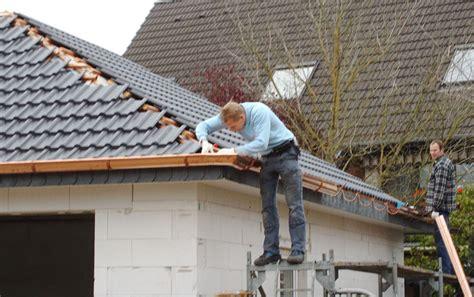 Dachentwässerung, Dachrinnenerneuerung> Philipp Corssen