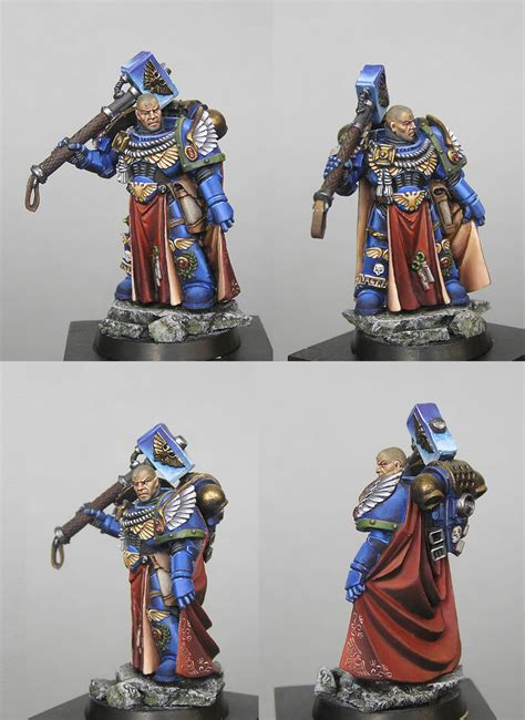 coolminiornot space marine chapter master  cesnak