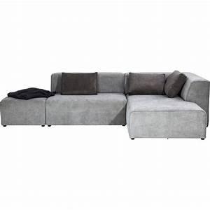 Sofa Ottomane : sofa infinity ottomane grey right kare design ~ Pilothousefishingboats.com Haus und Dekorationen