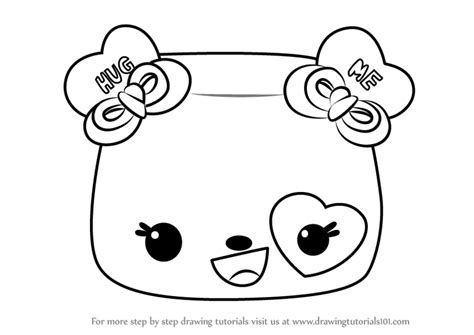 Learn How To Draw Nana Hearts From Num Noms (num Noms