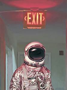 Exit Painting by Scott Listfield