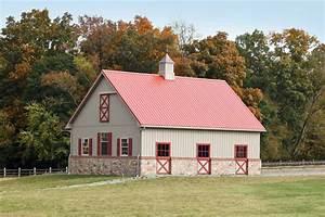 malvern pa white horse construction With brick horse barns