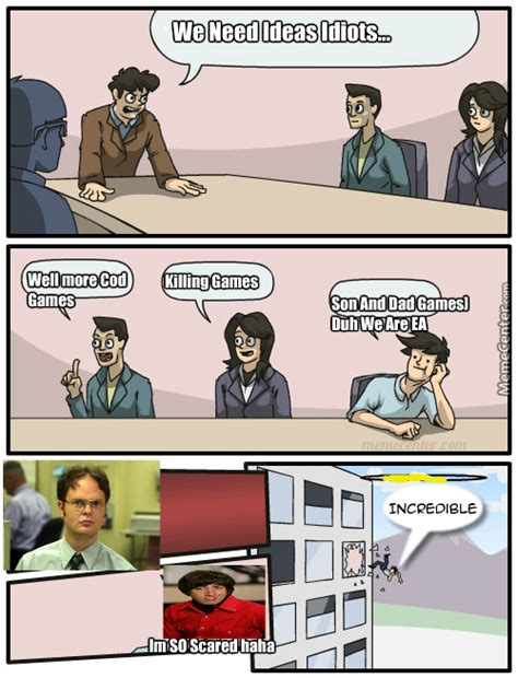 Board Meeting Meme - the ea board of directors meeting by secret9agent7 meme center