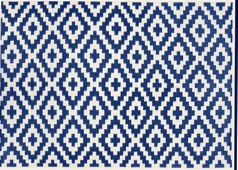 tapis outdoor indoor motif losange  couleurs chez ksl living