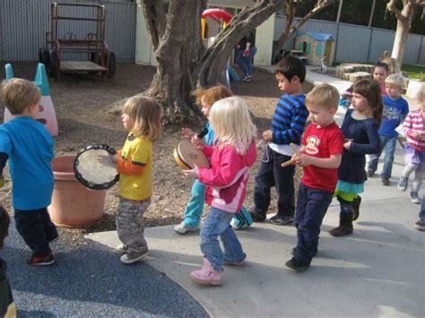 Activities evolve from the child's world and include vocal play, sounds, rhythm play, language play, and a good bit of genuine, silly fun while we develop competence in tonality and rhythm. Photos : Edgewater Preschool | Child Care Center, Day Care ...
