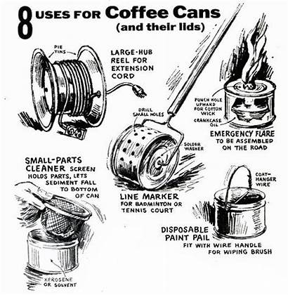 Uses Coffee Projects Diy Cans Screens Cleaning