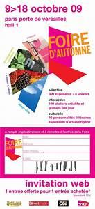 Place Gratuite Foire De Paris : invitations gratuites pour la foire d 39 automne blog artisans du patrimoine ~ Melissatoandfro.com Idées de Décoration