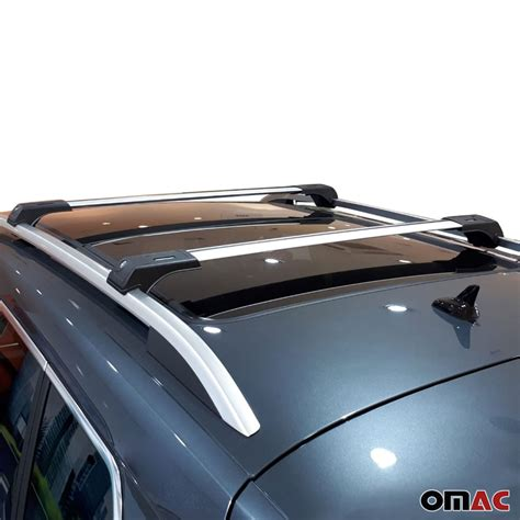 Free shipping to 185 countries. Roof Rack Cross Bars Luggage Carrier Silver Set 2Pcs for Mercedes ML 2 - Omac Shop Usa - Auto ...