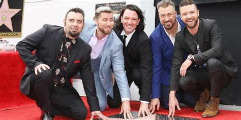 *nsync Reunite For Hollywood Walk Of Fame