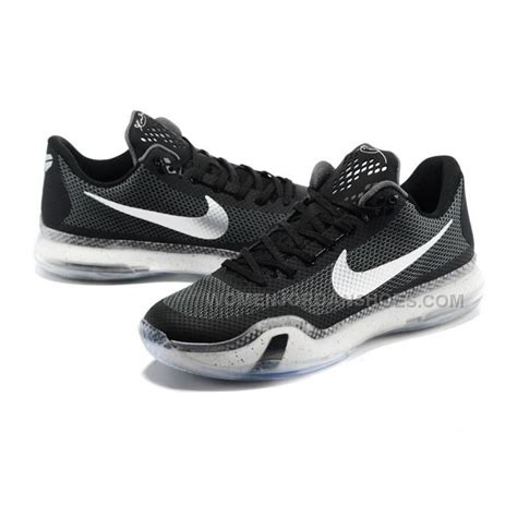 Shoes Cheap by Discount Basketball Shoes Nike 10 Black White Cheap