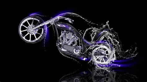 moto chopper side water bike  el tony