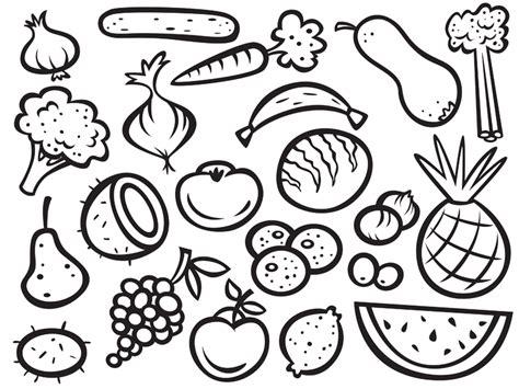 Ausmalbilder Zum Ausdrucken Obst Und Gemüse