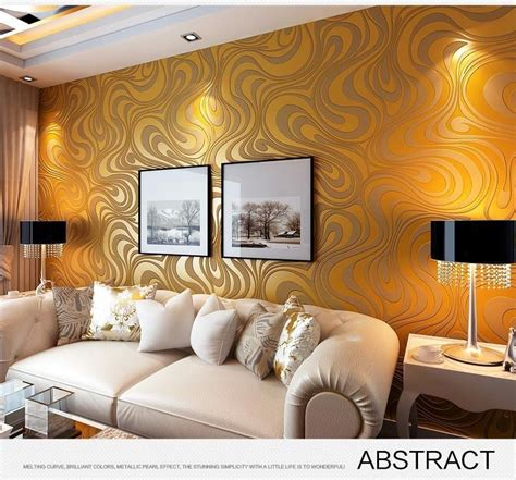 modern luxury  wallpapers roll mural flocking striped