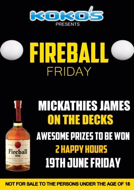 The Deck On Fountainview Happy Hour by Fireball Friday Going At Koko S Tonight Ehowzit