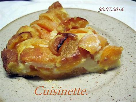 recette de clafoutis aux abricots frais
