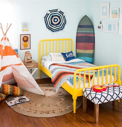 Surf Bedroom Decor by Liam S Nautical Surf Themed Bedroom Nursery Room