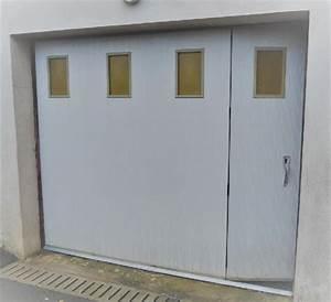 porte garage occasion clasf With porte de garage enroulable avec porte de service pvc occasion