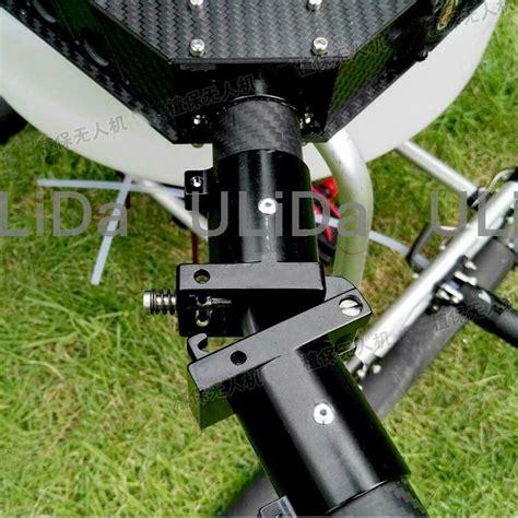 cnc aluminum transverse folding arm tube joint mm hinge  quadcopter drone ebay
