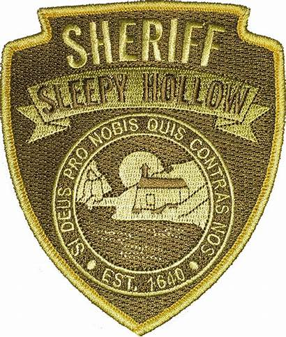 Sleepy Hollow Police Shoulder Patch Patches Tv