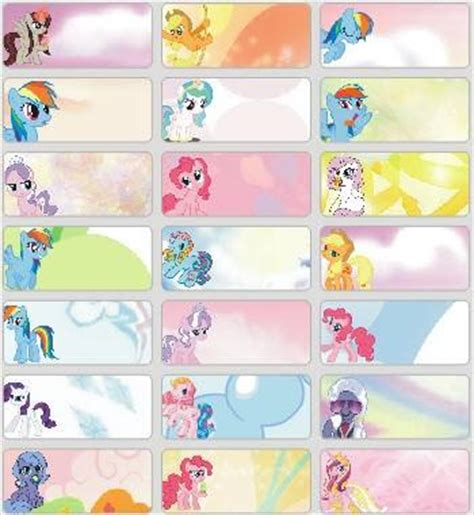 Ukuran M Wanita Dewasa Harga Jual My Little Pony Sticker Medium Name Label
