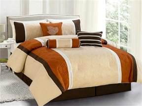 burnt orange and brown comforter sets home design ideas