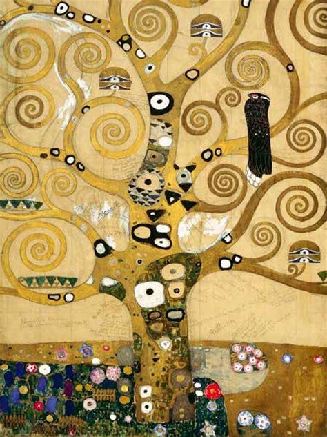 arbre de vie section centrale tableau de gustav klimt