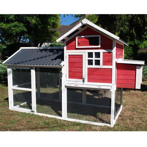 poulailler house ii 4 224 5 poules plantes et jardins
