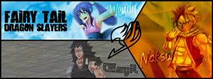FB Cover - Fairy Tail Dragon Slayers by DlynK on DeviantArt
