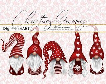 Merry xmas and happy holidays! Scandinavian Gnome Clipart, Christmas Gnomes Clipart ...
