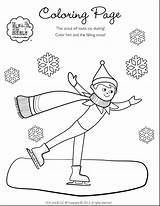 Elf Shelf Coloring Pages Christmas Drawing Printable Refrigerator Elves Sheets Pole North Female Scout Boy Dumbbell Eating Colour Getcolorings Warm sketch template