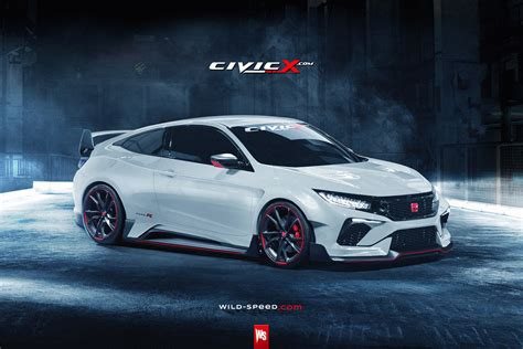 Take A Look At This Coupe Inspired Honda Civic Type R