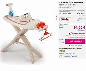 Carrefour Fer A Repasser : sodes fer et table a repasser smoby a seulement 14 euro ~ Dailycaller-alerts.com Idées de Décoration