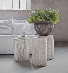 1001+ idées Table en rondin de bois un tronc peut en caché un autre