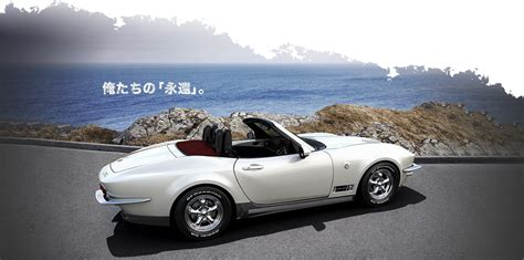 Mitsuoka Rock Star Is A Mazda Mx5 Pretending To Be A