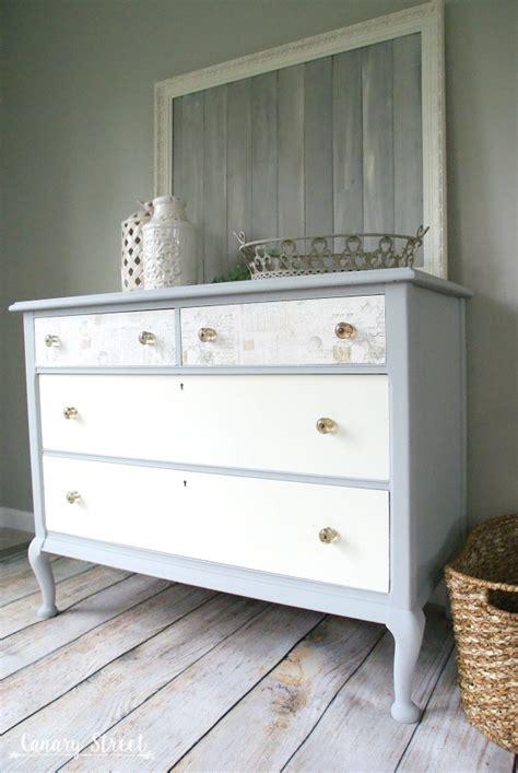 paris grey  white dresser canary street crafts
