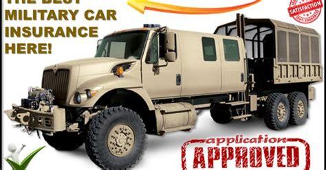 military discount car insurance companies car insurance