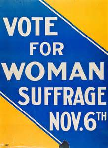 Suffrage Votes for Women