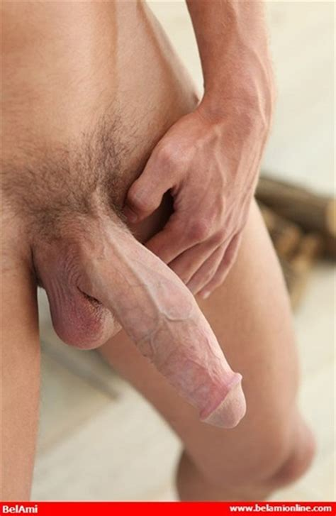 All american Gay Mick Lovell huge cock Blue Eyes Belami