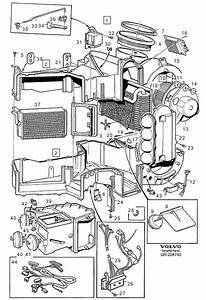 Volvo 960 Wiring Harness  E C C  Heater Unit  Rhd  Lhd