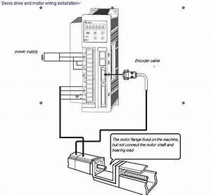 Plc Control 3 Phase Ac Servo Motor Drive For 400w 3000 Rmp Motor With Mitsubishi Igbt
