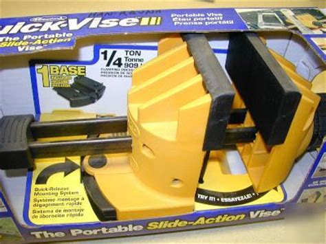 quick vise portable quick release mounting system