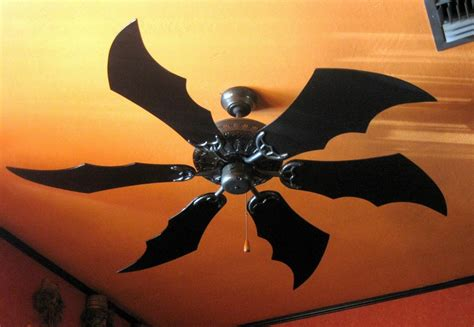 Bat Dragon Wing Fan Blades 5 Blades