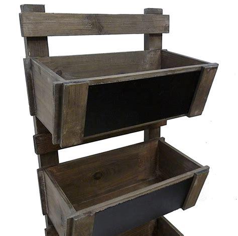 echelle de cuisine echelle escabeau a casier caisse bac en bois et ardoise
