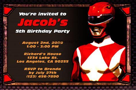 power ranger invitations template free printable power rangers birthday invitations free invitation templates drevio