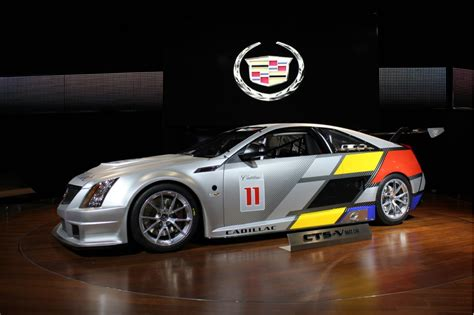 image  cadillac cts  coupe scca world challenge race